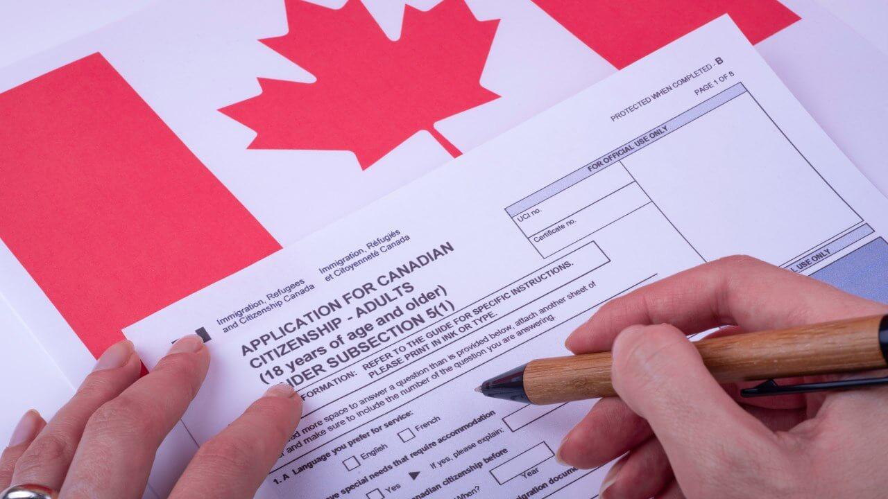 PR application in Canada